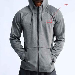 NUEVOS 2020 de deportes de invierno otoño hoodies flojos trotar tramo de cremallera chaqueta de baloncesto profesional la formación de los hombres hoody