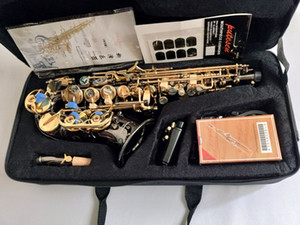 Instruments de Sax Sax S courbés YANAGISAWA S-991 Sib Sbrano Super Mouthpiece Black Nickel Gold