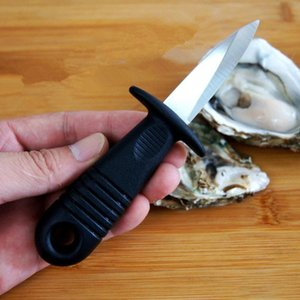 Open Shell Scallops Seafood Oyster Knife Multifunction Utility Kitchen Tools Stainless Steel Handle Oyster Knife Sharp-edged Shucker