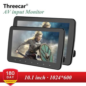 1024x600 10 дюймов ультра тонкий TFT LCD подголовник DVD Мониторы HD видеовход Radio AV Monitor для автомобильной аудиосистемы DVD-плеер для Android