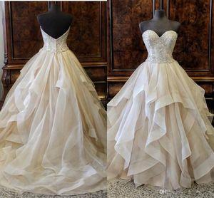 2019 Organza Quinceanera Dresses 아가씨 민소매 레이스 업장 길이 볼 가운 볼 가운 Wedding Dres Sweet