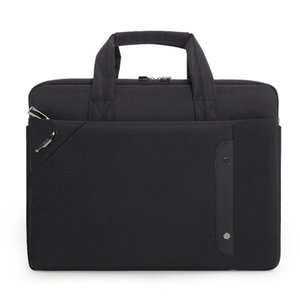 2020 Erkekler İş Ofis Çantası Seyahat Messenger Büyük Bez erkekler Bilgisayar Çalışma Çanta İş Seyahat Dosya Paketi 16 Laptop Çanta