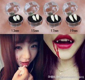 Halloween False Teeth Vampire Denture Fashion White Zombie Teeth COSPLAY Costume Accessories