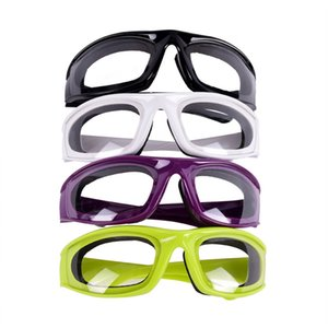 Kitchen Onion Goggles Tear Free Slicing Cutting Chopping Mincing Eye Protect Glasses Hot