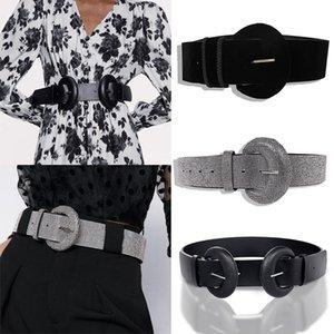 Women's Belts widened suede ladies belt super flash personality diamond studded waist chain 2020 new design
