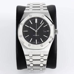 Haute qualité supérieure montre mécanique automatique 15400 montre de la mode sport de plongée de loisirs de bracelet en acier inoxydable hommes montres de luxe hommes