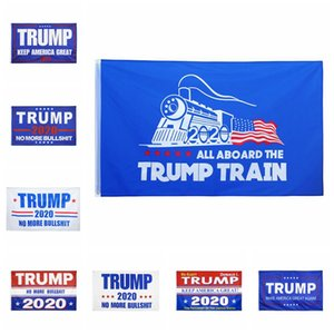 Trump 2020 Banner Flags 90*150cm Donald Trump Keep Make America Great Flag 9 Styles Trump 2020 Party Banner Flags CCA12297 60pcs