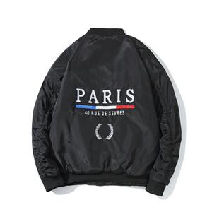 Cuero de lujo de la chaqueta del invierno de calidad mujeres de los hombres abrigos de invierno para hombre del diseñador de alta chaqueta de abrigo Negro Azul