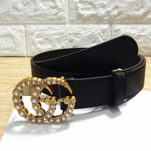 GUCCI Belt Designer Cintos Mens Belts Designer Belt Cobra Luxo Belt Cintos de couro do negócio Womens Big fivela de ouro # 98782