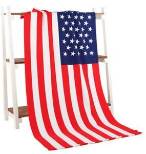 유로 돈 미국 국기 영국 깃발 목욕 타올 마이크로 화이버 인쇄 활동 비치 타올 머리 슈퍼 소프트 워터 70 * 140 cm