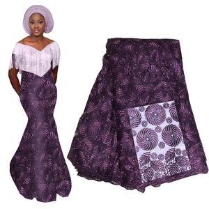 Африканский Джордж Кружева Индийский Дизайн Для Нигерийского Свадебного Платья Tissu Золотой Линии Вышитые Джордж Кружева Шелковые Ткани