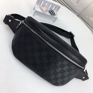 2020 디자이너 허리 가방 가슴 가방 캠퍼스 크로스 바디 어깨 가방 고품질 패니 팩 (블랙)