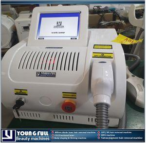 IPL SHR machine épilation opt épilateur traitement indolore effet rapide SHR CE laser approuvé un an de garantie