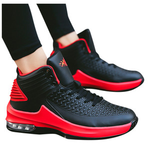 2020 new SAGACE Sneakers Men's Fashion High-Top Non-Slip Wear-Resistant Sports Shoes College Comfortable Basketball running Shoes X1230