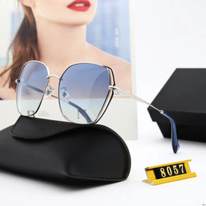 Sunglasses -2019 new polygonal polarized sunglasses ladies metallic personality sunglasses fashion glasses BL8057 polarized lens alloy frame