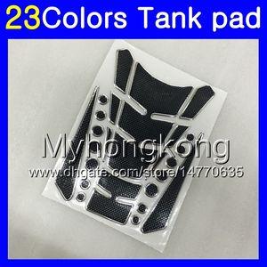 Fibra del carbón 3D del cojín del tanque para BMW S1000RR S1000R 15 16 17 18 19 S1000 RR 2015 2016 2017 2018 2019 calcomanías etiqueta engomada MY175 Gas Tapa del tanque Protector