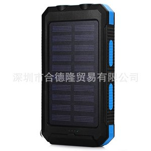 10pcs Waterproof Power Battery 20000mAh Dual Flashlight For iphone Powerbank Charger Bank Portable Quick LED External for Solar
