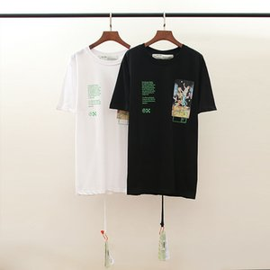 20% OFF Top Quality Brand Designer Clothing Men Women White T-Shirt Print Tees Short Sleeve 1169
