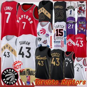 Kawhi Leonard Pascal Siakam Fred VanVleet Kyle Lowry Vince Carter Tracy McGrady Toronto Raptors