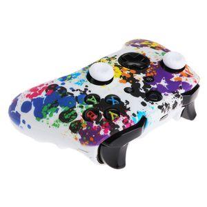 Pele Camouflage Camo Silicone Case Capa protetora luva de borracha para Xbox One X S Controlador Protector