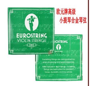 Cordas para violino da marca Euro cordas para ligas de violino fios de aço 44 cordas efeitos sonoros boa sensibilidade elevada