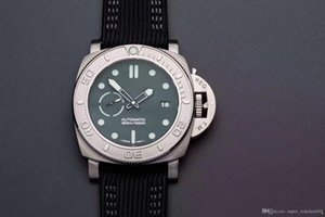 VS 984 reloj DE lujo 47MM stereo digital collar resin fiber watch strap automatic mechanical movement watches designer watches