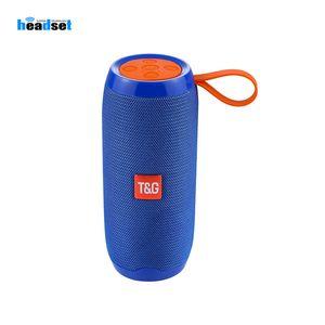 Entrada TG106 Bluetooth Speaker Outdoor portátil Wireless Speaker 1200mAh Suporte TF FM AUX Rádio auxiliar
