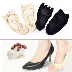 2adet / Lot Kadınlar Five Fingers Ayak parmakları Sıkıştırma Çorap Arch Destek Ayak Ağrı Çorap tabanlık rahatlatmak