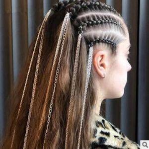 30pcs / lot DIY simple multi étnico metal estilo de la cadena mechón de cabello Dreadlocks Braiders de Estilismo herramientas accesorias HA1299