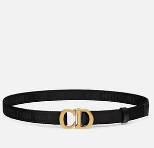 Venda quente do estilo de Nova Fashion Business mens cintos D de design mulheres fivela D com cinto de lona preta não com a caixa como 19g1zt gif