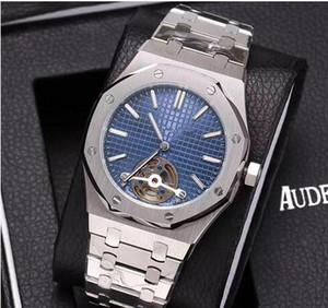 orologio orologio classico modo di trasporto libero High-end royal oak, macchina tu-volano, acciaio fine 316, zaffiro diametro quadrante mirror.The è 42 millimetri