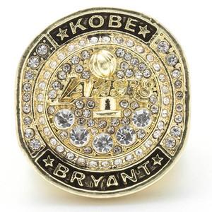 2020 Mamba Out Cher Basketball Super Bowl Mamba Lakers anneau championnat anneau GLACÉ chaînes design de luxe anneaux hommes de bijoux