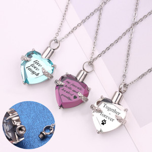 MEIBEADS Personalized Customization Love Perfume Bottle Pendant Necklace For Couple Name Pendant Neckalce Jewelry Gift