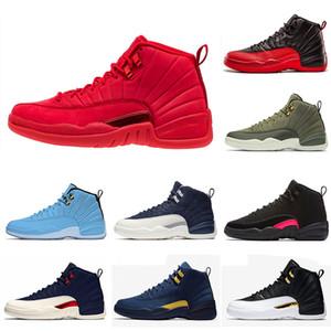 Новый Gym Red 12 XII 12s мужская баскетбольная спортивная обувь Winterized CNY College Navy Michigan Milan Wings International Flight Спортивные кроссовки