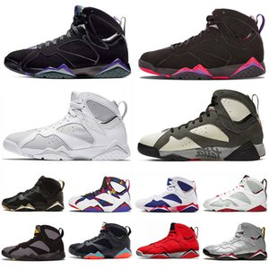 2019 air jordan retro 7 jumpman 7 Baskeball mens zapatos 7s GMP Fadeaway Barcelona Nights carámbano reflectante de un hombre Champion Patta X zapatos de diseño entrenadores
