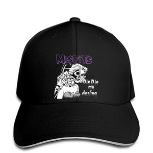 hip hop Baseball caps Cool FunnyHigh Quality s New Misfits Punk Die Die My Darling Danzig Anime snapback
