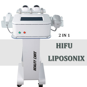 non surgical liposuction Liposonix machine focused ultrasound hifu Liposonix cellulite reduction slimming machine 0.8cm 1.3cm cartridge
