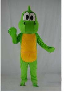 2018 vendita calda Barney Dragon Mascot costumi su misura adulto Barney dinosauro mascotte costume