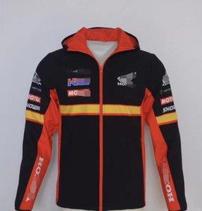 KTM nueva motocicleta HRC Weishuanghua prueba de viento con capucha estilo ventilador Marqués chaqueta del suéter de la chaqueta de montar misma costumbre