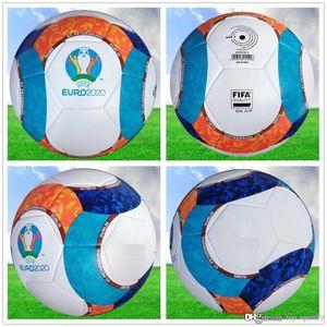 2020 European Cup soccer ball Final KYIV PU size 5 balls granules slip-resistant football Free shipping high quality ball