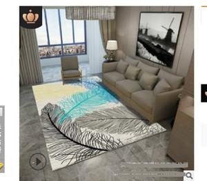 2020 горячей продажи ковер гостиной журнальный столик имитация шерстяной ковер Спальня супер мягкий, модно и просто. Геометрический шерсть литий