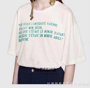 Luxury Vintage Designer men women T-shirt fashion classic logo t shirts early spring 2020 short sleeve round neck top Tops unisex shirts q19