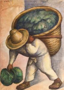 Diego Rivera Kohl Verkäufer Hauptdekor handgemaltes HD-Druck Anstrich-Öl auf Leinwand-Wand-Kunst-Leinwandbilder 191111