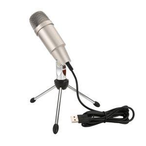 C-330 USB Mikrofon Karaoke-Mikrofon Kunststoff und Metallkondensator Mikrofon Herzförmiges Zeigen Drop Shipping