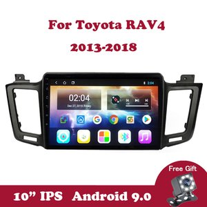 Android 9.0 Multimedya Oynatıcı 2.5D için Toyota RAV4 4 XA40 5 XA50 2013-2018 Double Din WIfi Oto Araç Radyo IPS ekran GPS Stereo