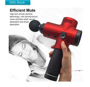 Tissue Massage Gun Free Delivery Myofascial Physiotherapy Instrument Mute Touch Screen Fascia Gun RelaxImpact Gun Deep