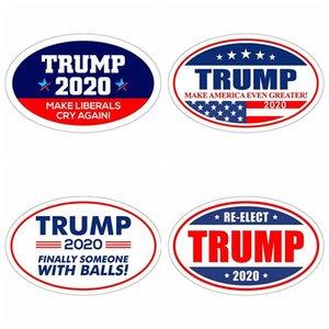 Trump 2020 Stickers Fashion Donald Presidential Election Keep Make America Great Fridge Magnets Wall Sticker Home Decor new TA1583