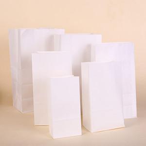 50 / 100шт крафт-бумажный мешок подарочные пакеты упаковка печенье конфеты еда печенье хлеб видел закуски выпечки на вынос сумки