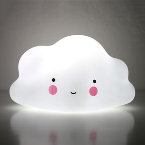 Cloud Shaped Kids Bedroom Decoration Night Lights Children Toys Warm White Light Night Lamps Children Gift Cloud Night Lights DH1067-1 T03
