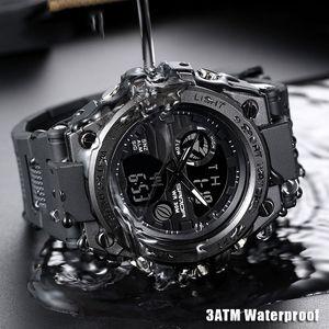 2019 El más nuevo reloj para hombre deporte multifunción reloj digital resistente al agua reloj para hombre deportes al aire libre Alta calidad Envío gratis